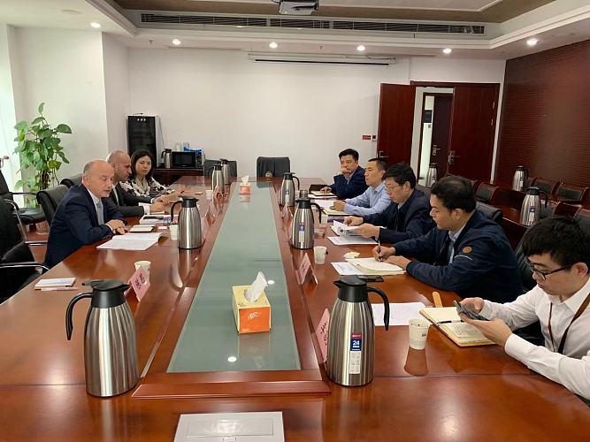 Meeting with Nanjing Bureau of Science and Technology
